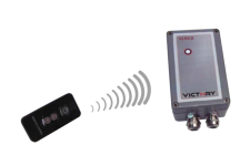 Heatlight 4-Stufen Dimmer inkl. Fernbedienung - VLRC2 - Geeignet für Infrarot Heizstrahler bis 2KW
