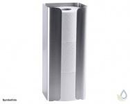 Proox® ONE pure PU-393 Ersatz Rollenhalter für 3 Rollen aus Edelstahl matt gebürstet