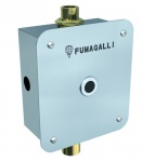 Fumagalli elektronisches WC-Spülsystem mit Photozelle - aus Edelstahl Aisi 304