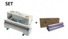 SET Effizienter Wrapmaster-Spender 4500 und Frischhaltefolie 4500 aus Polyethylen