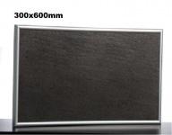 Keramik Infrarot Heizung 200 Watt mit Alurahmen und Wandhalterung von Elbo Therm
