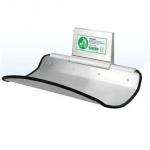 Wickeltisch Aluminium und Edelstahl gebürstet - Sehr elegant und hohe Qualität