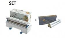 SET Effizienter und robuster Wrapmaster-Spender 3000 und Alufolie 3000