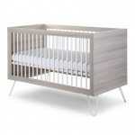 Childhome Ironwood Ashen Wandelbett 70X140 + Latten