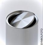 Graepel G-Line Pro Wäschebehälter Swinging Stahl schwarz lackiert mit Tasche