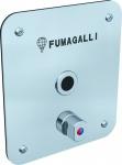 Fumagalli elektronischer Misch-Duschwasserhahn - Photozelle - Messing- Edelstahl