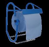 Metzger Putzrollenhalter für Putzrollen bis 40 cm Breite inkl. Abfallsackhalter