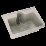 Franke Mehrzweckbecken SIRIUS aus glasfaserverstärktem Polyester-Recyclingmaterial
