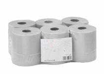 Handtuchrolle Easycut 130m 2-lagig - 6 Rollen Zellstoff hochweiss