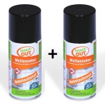 2er Set Insect-OUT® Mottennebel 150 ml - Mit dem Wirkstoff der Chrysanthemenblume