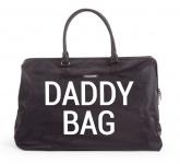 Childhome Daddy Bag Gross Schwarz
