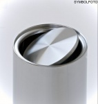 G-Line Pro Abfalleimer Swinging Stahl schwarz lackiert mit verzinktem Inneneimer