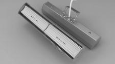 Keramikheizstrahler Infrarot Modell Pub Sun Silber 1300W von Elbo Therm