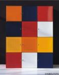Graepel High Tech italienischer QBO base x Würfel aus lackiertem Stahl