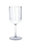Kunststoff Weinglas 1/8l - 1/4l SAN glasklar wiederverwendbar Spülmaschinen tauglich