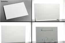 IR-Heizsystem Easy Modell incl. Wandhalterung mit Kabel und Stecker 600 od. 650W