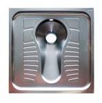 Franke Hock-WC zur flächenbündigen Einlege- oder Auflegemontage aus Edelstahl 1, 2mm