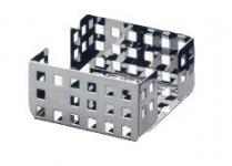 Graepel G-Line Pro erstklassige Quadrotto Zettelbox aus poliertem Edelstahl