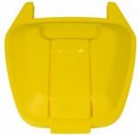 RUBBERMAID Mobiler Rollcontainer Deckel aus Polyethylen in versch. Farben