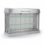 Insect-O-Cutor Industrial Insektenvernichter Edelstahl mit 40 Watt und Elektrogitter Technik