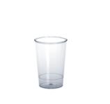 20er Set Promo Cup 0, 1l SAN glasklar aus Kunststoff
