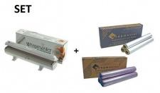 SET All in one Wrapmaster Spender 1000 und Frischhaltefolie sowie Alufolie 1000