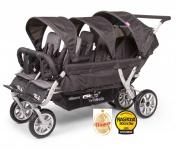 Childwheels Six seater Sportwagen für Sechs Kinder + Regenschutz