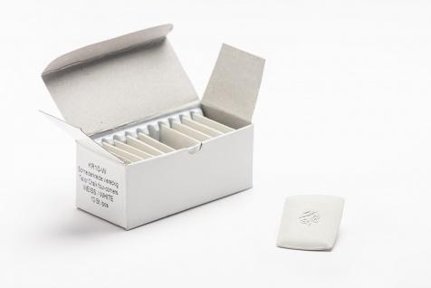 Schneiderkreide Kreide, ausbürstbar- Karton mit 10 Stück in weiss