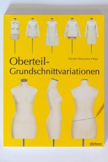 Buch Schnittkonstruktion Oberteil-Grundschnittvariationen