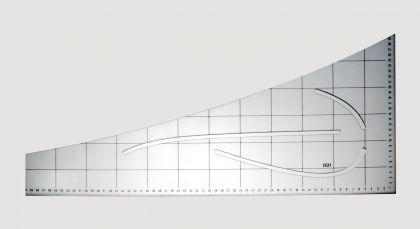 Schneiderwinkel Kurvenlineal f.Schnittkonstruktion - Vorschau