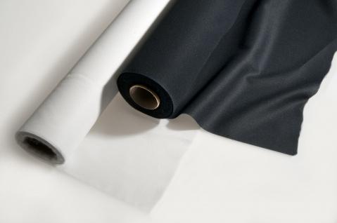 Fixiereinlage Vlieseinlag Gewebeeinlage elastisch wie Vlieseline 100m Rolle weiss - Vorschau