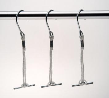 Set - Schablonenhaken mit Kordel - 10 Stück, Aufhänger für Schnittmuster