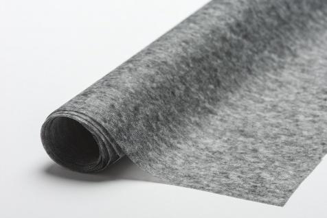 Fixiereinlage Vlieseinlage wie Vlieseline Farbe: anthrazit/ sehr leicht