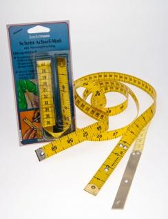 Maßband, Schrittmaßband, Spezialmassband zur Schrittlängenmessung