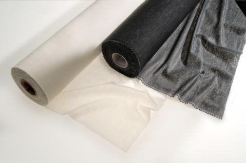 Fixiereinlage Vlieseinlage Gewebeeinlage wie Vlieseline mittel 100m Rolle schwarz