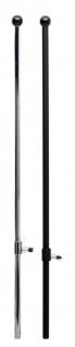Ständer für Schneiderpuppen Metall verchromt - Vorschau 2