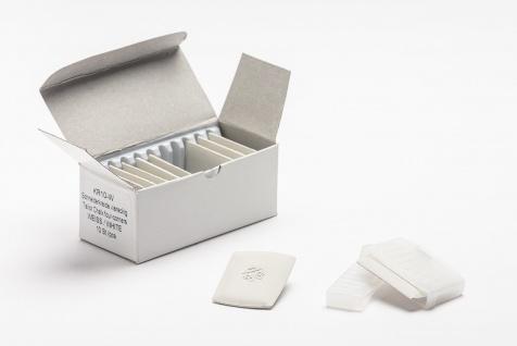 Schneiderkreide Kreide, ausbürstbar- Karton mit 10 Stück in weiss - Vorschau 2