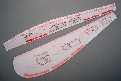 Kurvenschablonen - Set