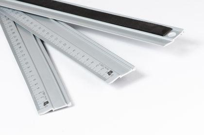 Lineal 100cm aus Aliminium, Lineal lang - Vorschau