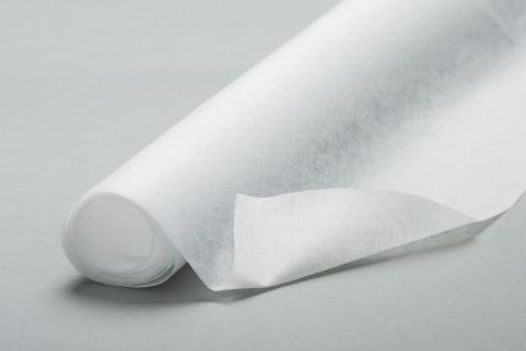 Fixiereinlage Vlieseinlage wie Vlieseline Farbe: weiss/ sehr leicht 100m-Rolle