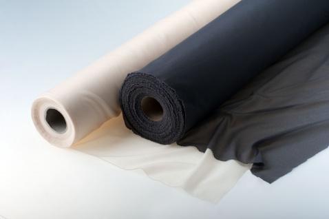 Fixiereinlage Vlieseinlage Gewebeeinlage elastisch wie Vlieseline 100m Rolle anthrazit