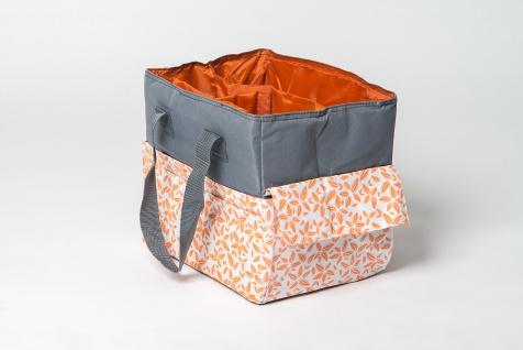 Basteltasche, Handarbeitstasche orange