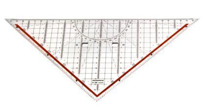 Geodreieck / Geometriedreieck groß - Vorschau