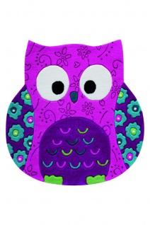 Smart Kids Kinderteppich Little Owl Pink