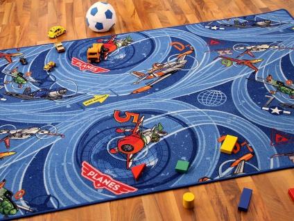 Kinder Spielteppich Disney Planes Blau