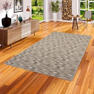Streifenberber Teppich Modern Stripes Beige