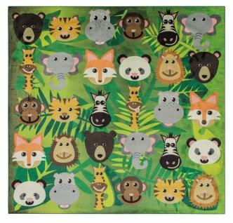 Lernen und Spielen Kinder Teppiche Educational Fun Wild Animals