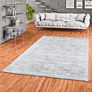 Luxus Designer Teppich Roma Silbergrau