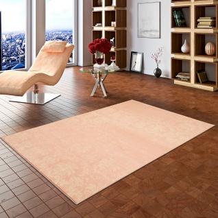 Designer Teppich Passion Pastell Rosa Vintage