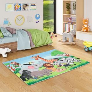 Luxus Super Soft Kinder Fellteppich Plush Kids Dschungel Family